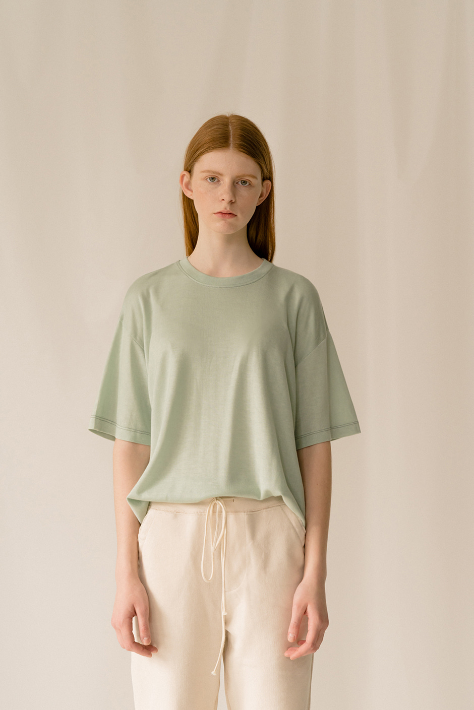 TENCEL T-SHIRTS MINT