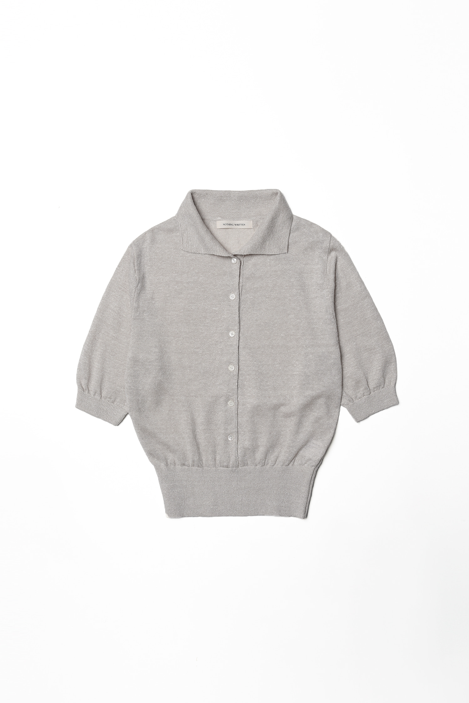 3RE-ORDER / Groth linen knit (ivory)