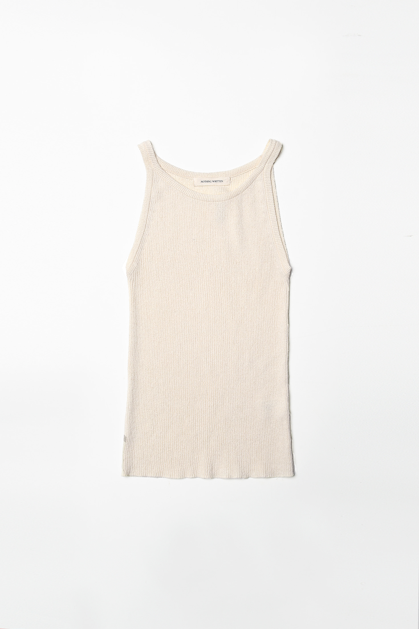 3RE-ORDER / Knit sleeveless (ivory)